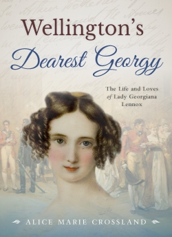 Jacket Image for the Title Wellington's Dearest Georgy