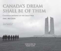Jacket Image For: Canada's Dream Shall Be Of Them